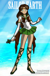 Sailor Earth by angels1732