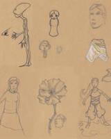 Sketches doodles02 by jlpicard1701e