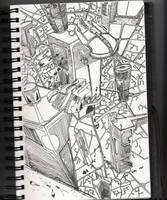 Ville Futuriste by jlpicard1701e