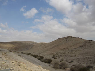 Negev Desert by jlpicard1701e