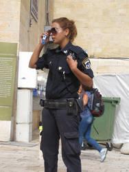 Jerusalem Policewoman by jlpicard1701e