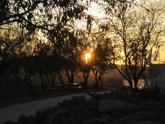 Sunset in Shiloh by jlpicard1701e