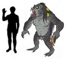Lizard Man by TheMorlock