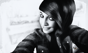 Pip in B and W by mezwik