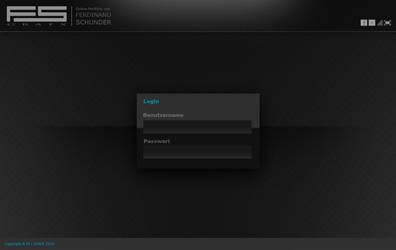 Login interface by FUFL187