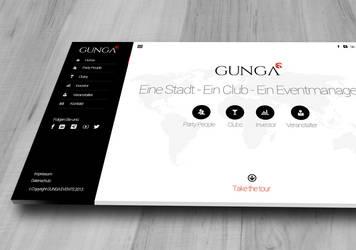 GUNGA Webdesign by FUFL187