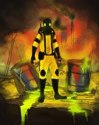 Inktober Day 1: Toxic by Votdren