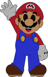Paper Mario by DarkIggyKoopa
