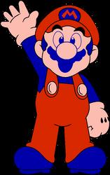 DK NES Mario by DarkIggyKoopa