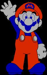 DK (MSX) Mario by DarkIggyKoopa
