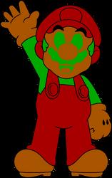 DK (DOS) Mario by DarkIggyKoopa