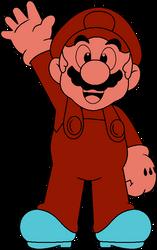 DK (Commodore VIC-20) Mario by DarkIggyKoopa