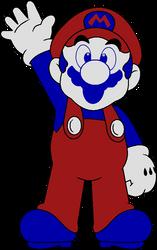 DK (ColecoVision) Mario by DarkIggyKoopa
