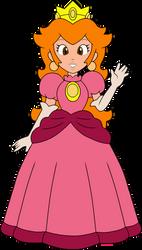 Princess Peach (Nintendo Comics System) by DarkIggyKoopa