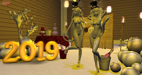 Happy New Year 2019 by Jessic21a