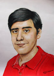Self Portrait by GuillermoLabrador