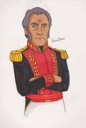 Simon Bolivar by GuillermoLabrador