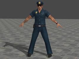 DOA5U Rig Police costume by zareef
