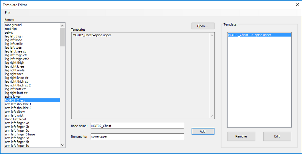 Template editor by zareef