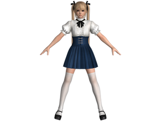 DOA5 LR Marie Rose High society by zareef