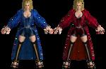 DOA5 LR Helena Costume 1 (Blue/Red) by zareef