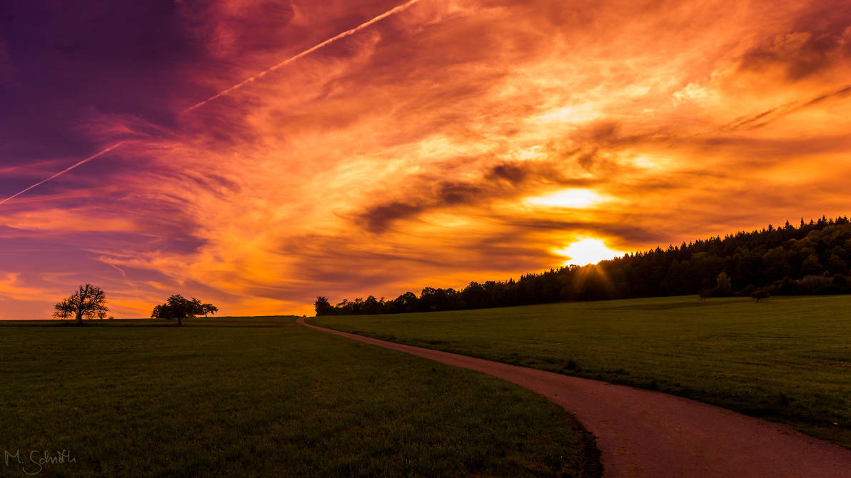Cheesy Sunset. by marc-bruno