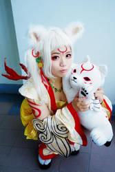 Okami - Amaterasu personification by rolan666