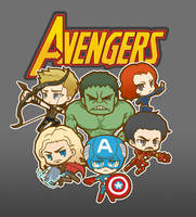 AVENGERS!!! by rolan666