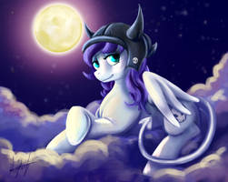 Under the Full Moon by MillyD13