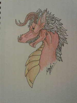 The Grinning Dragon by MillyD13