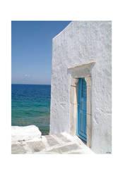 behind the blue door by libelle