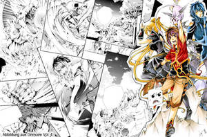 Crowdfunding collage/ Teaser from Grimoire Vol 4 by demoniacalchild