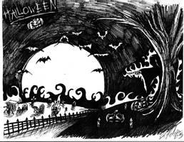 Halloween by artbyjpp