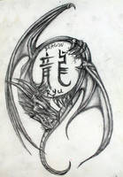 Dragon Tattoo Idea by artbyjpp
