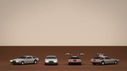 DeLorean DMC-12 by smnbrnr