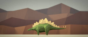 Stegosaurus by smnbrnr