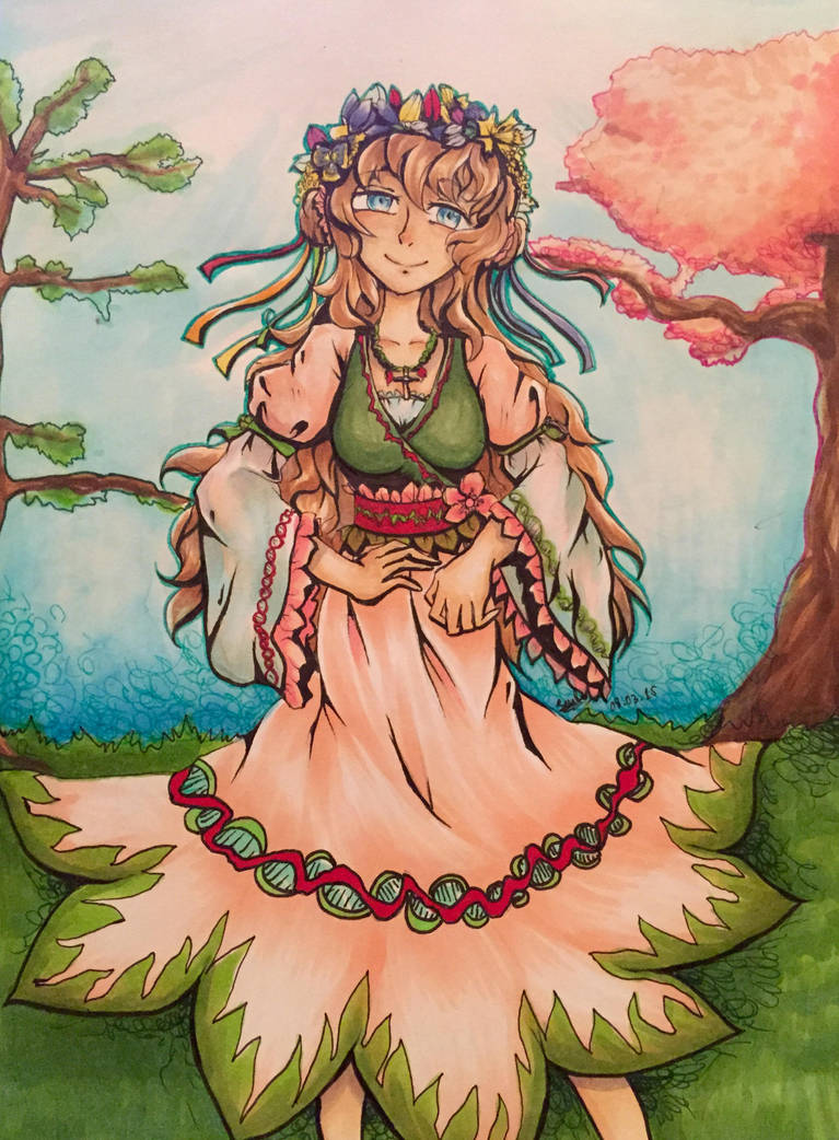 spring personification