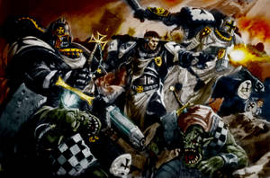 Black Templars Colored 2 by MrDue