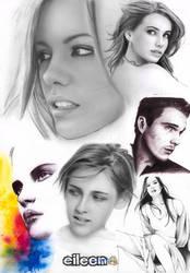 Faces by eileenirma