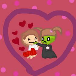 Valentine Commission by Shadowdoggy