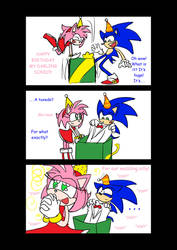 Sonic's 18th Birthday--page 6 by SonicFF