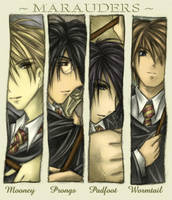 - HP Marauders: My Reality - by kittynfish