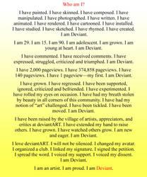 I Am Deviant. by mei0023