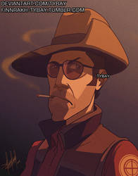 TF2: Marksman by Tybay