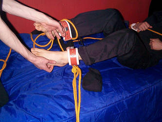 Barefoot tickle by sockbinder