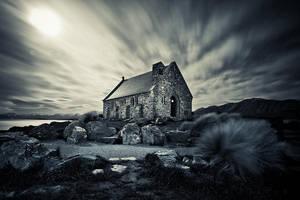 Good Night Shepherd by CainPascoe