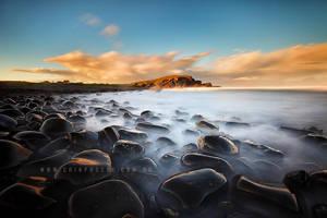 Pebbly Beach by CainPascoe