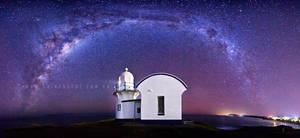 Lighthouse Nebulae by CainPascoe