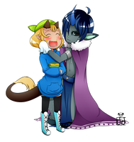 :C: Mommy Zheph and Lil Bee by Jesi-Jess