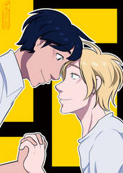 [Fanart] Banana Fish by Jesi-Jess